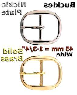"""BELT BUCKLE FITS 1-3/4"""" WIDE BELTS SINGLE PRONGED TV 718-5"""