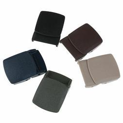 Belt Buckle Plastic Adjustable Tied Nylon Webbing Canvas Men