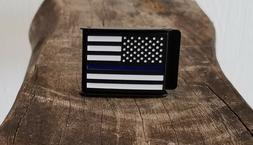 """Belt Buckle   Pro Police   """"The thin blue line"""""""