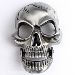 Belt buckle Silver Skull Men's Belt Buckles for women Cowboy