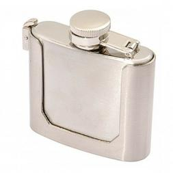 Belt buckle skull wing with storage & flask Funtional Gadget