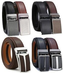 Belt for Men,Bulliant Men's Click Ratchet Belt Of Genuine Le