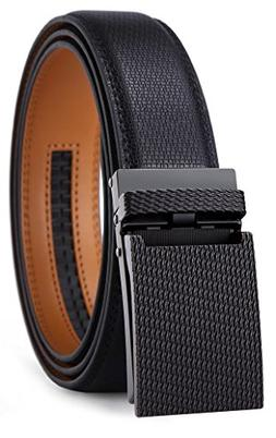 Belt for Men,Bulliant Men's Click Ratchet Belt Of Genuine Le