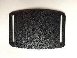 Belt Buckle , Metal, Powder Coated  , Use With Nylon Webbin