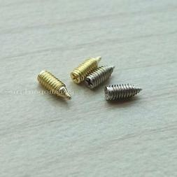 Belt Tip Buckle Replacement Screw for Sewing Leather Craft Z