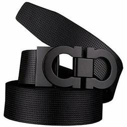 Belts Men's Smooth Leather Buckle 35mm Up To 42inch  110cm