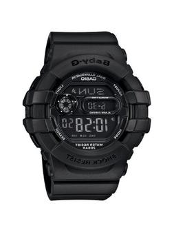 Casio Women's BGD140-1A Black Resin Quartz Watch with Black