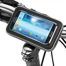 Bicycle Bike Phone Mount Holder, iKross Black Universal Wate