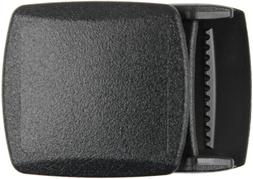 "Black 1-1/4"" Plastic Web Belt Buckle Rothco 4970"
