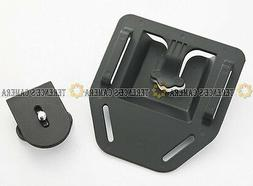 black belt buckle button mount for canon