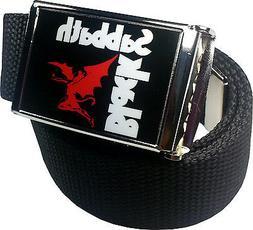 Black Sabbath Ozzy Belt Buckle Bottle Opener Adjustable Web