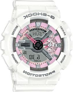 BRAND NEW CASIO G-SHOCK GMAS110MP-7A S-SERIES  ANA-DIGI WHIT