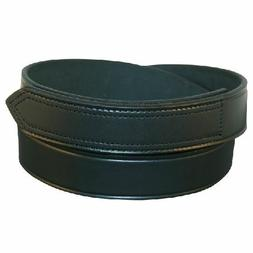 Boston Leather Buckleless Belt with Velcro® Closure