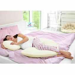 C Shape Total Body Pillow Pregnancy Maternity Comfort Suppor
