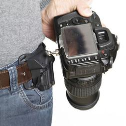 Camera Quick Belt Buckle Holster Waist Mount Holder Clips Fo