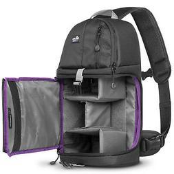 Camera Sling Backpack Bag for Canon Nikon Sony DSLR & Mirror
