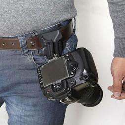 Camera Waist Belt Buckle Straps Hanging Clip Holder Strong H