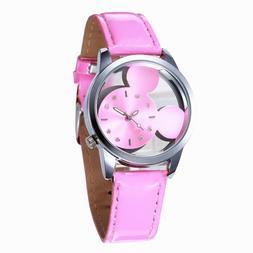 Casual Women's Quartz Watches <font><b>Belt</b></font> Leath