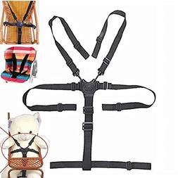 High Chair Straps, 5 Point Harness, Harness for High Chair,