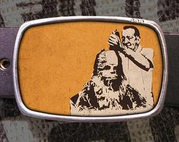 Chewbacca Hair Cut Vintage Inspired Art Gift Star Wars Belt