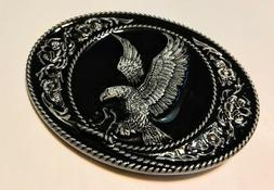 Classic American EAGLE ` Full Metal BELT BUCKLE COUNTRY West