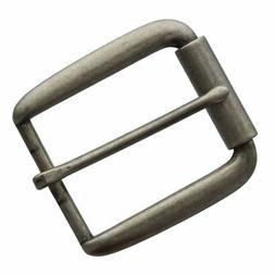 Classic Single Prong Replacement Roller Belt Buckle, Fits 1-