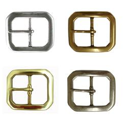 """CLIPPED CORNER REPLACEMENT BELT BUCKLE FITS 1-1/2"""" =  BELT 4"""