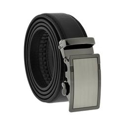 Comfort Slide Click Leather Automatic Belt Men's Buckle Lock