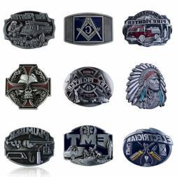 Cool Zinc Alloy Mens Cowboy Belt Buckle Western Vintage Buck