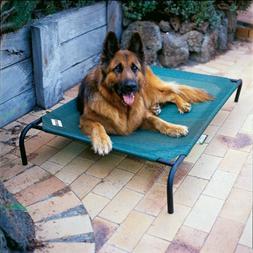 Coolaroo Elevated Pet Bed Large Terra Cotta