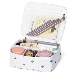 Cosmetic Bags Travel Makeup Bag for Women with Adjustable Di