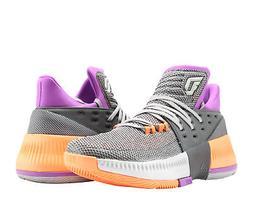 Adidas D Lillard 3 Dame 3 ASG Grey/Purple/Orange  Men's Bask