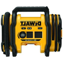 DEWALT DCC020IB 20V MAX Corded/Cordless Air Inflator New