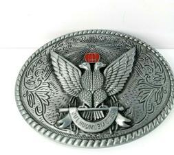 deus meumque jus belt buckle very lightweight