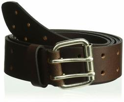 Dickies Work Belt For Men - Leather With Double Prong Buckle