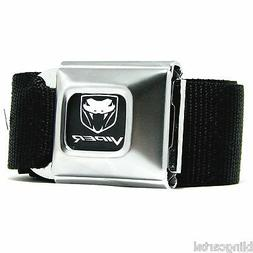 Dodge Viper Logo Official Licensed Seatbelt Authentic New Se