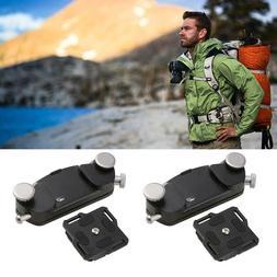 DSLR Camera Belt Buckle Mount Clip Adapter Quick Release Wai