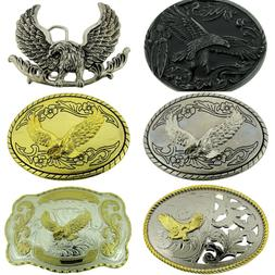 Eagle Belt Buckle Animal American Fashion Metal Costume Unis