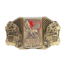 Eagle Lighter Western Men's Belt Buckles women Cowboy Vintag