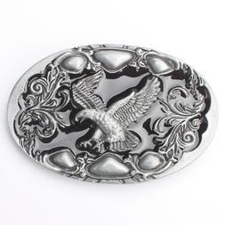 Eagle Men's Belt Buckles for women Western Texa Cowboy Rodeo