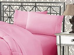 Egyptian Bed Sheet Set 4pc Deep Pocket 1500 Thread Count Lux