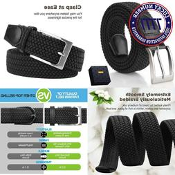 Elastic Braided Belt, Fairwin Enduring Stretch Woven Belt Fo