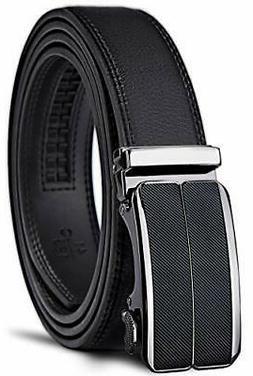 Excellent Men's Belt Well Designed Slide Ratchet, Genuine Le