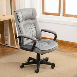 Executive Office Chair Lumber Support Computer Desk Padded M