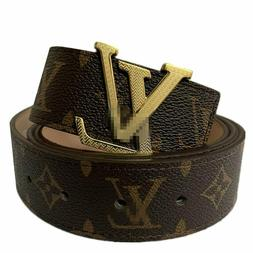 Belt World Fashion Leather Metal Buckle Unisex Women Men Bel