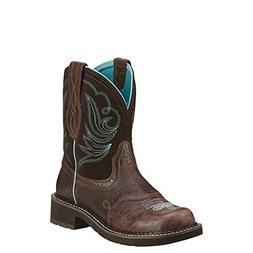 Ariat Fatbaby Boots Womens Western Heritage Dapper Choc 1001