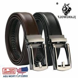 Genuine Leather Belt For Men Ratchet Belt Autonomic Belt Buc