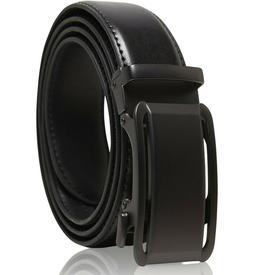 Genuine Leather Belt Mens Ratchet Belt With Adjustable Autom