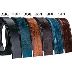 Genuine Leather Belts for Men Lot Fashion Ratchet Belt Strap