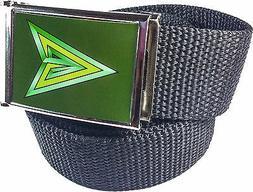 Green Arrow DC Comics Belt Buckle Bottle Opener Adjustable W